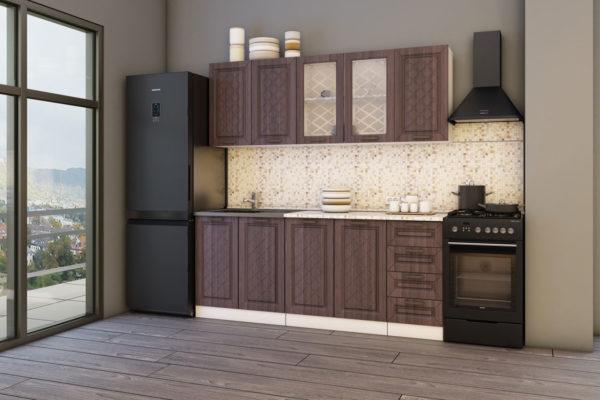 Кухня-АГАВА-темная-20-м