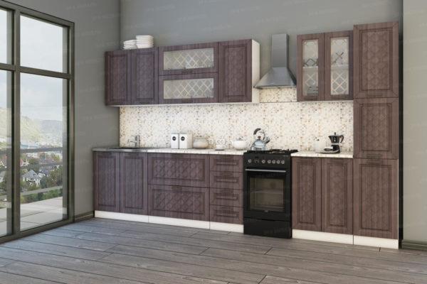 кухня-АГАВА-темная-30м.